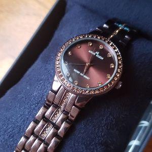 Anne Klein Swarovski Crystal's Watch
